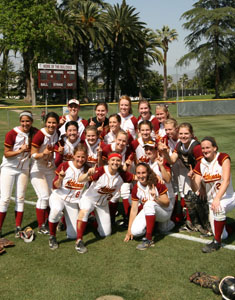 2013 SCIAC Softball Postseason Tournament Champions