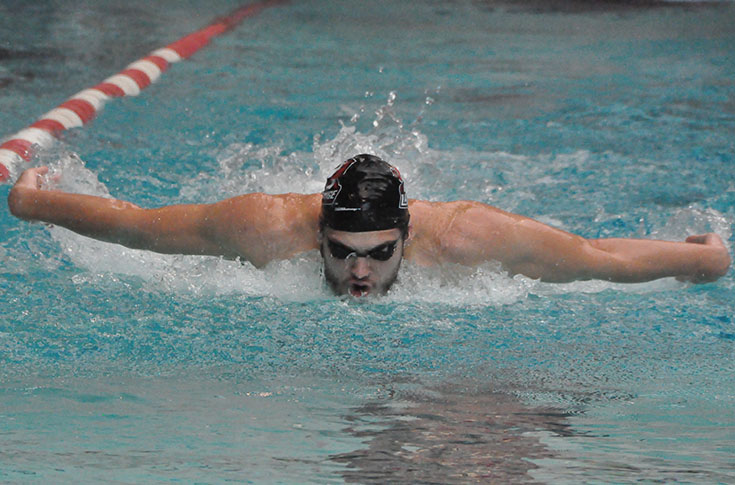 Swimming: Panther men win dual meet against Ferrum and Guilford