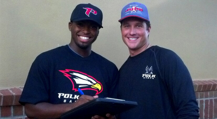 Polk Baseball Signee Sought by Pros, Division I Teams, Signs With Polk