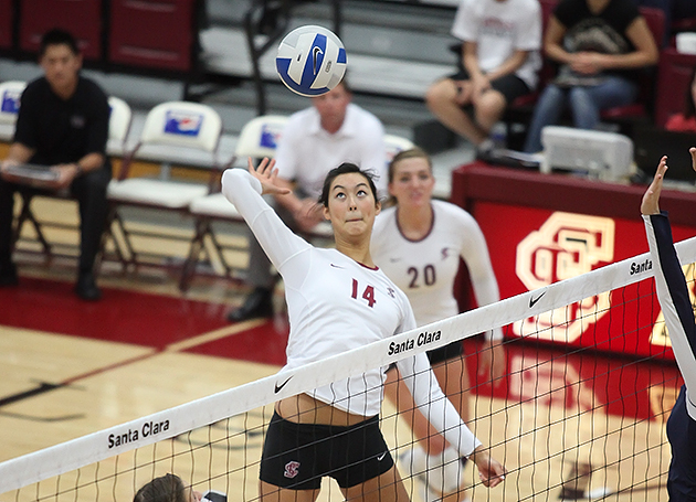 Volleyball Travels to Pepperdine and LMU This Weekend
