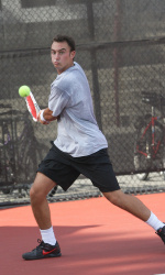 Men's Tennis Comes Up Short Versus No. 35 Arizona