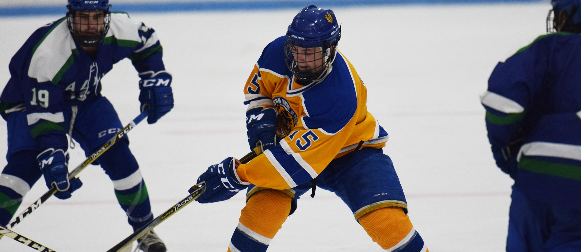 Junior Matt O'Dea scored his first goal of the season in Western New England's 3-2 loss at Salve Regina on Saturday (photo by Rachael Margossian).