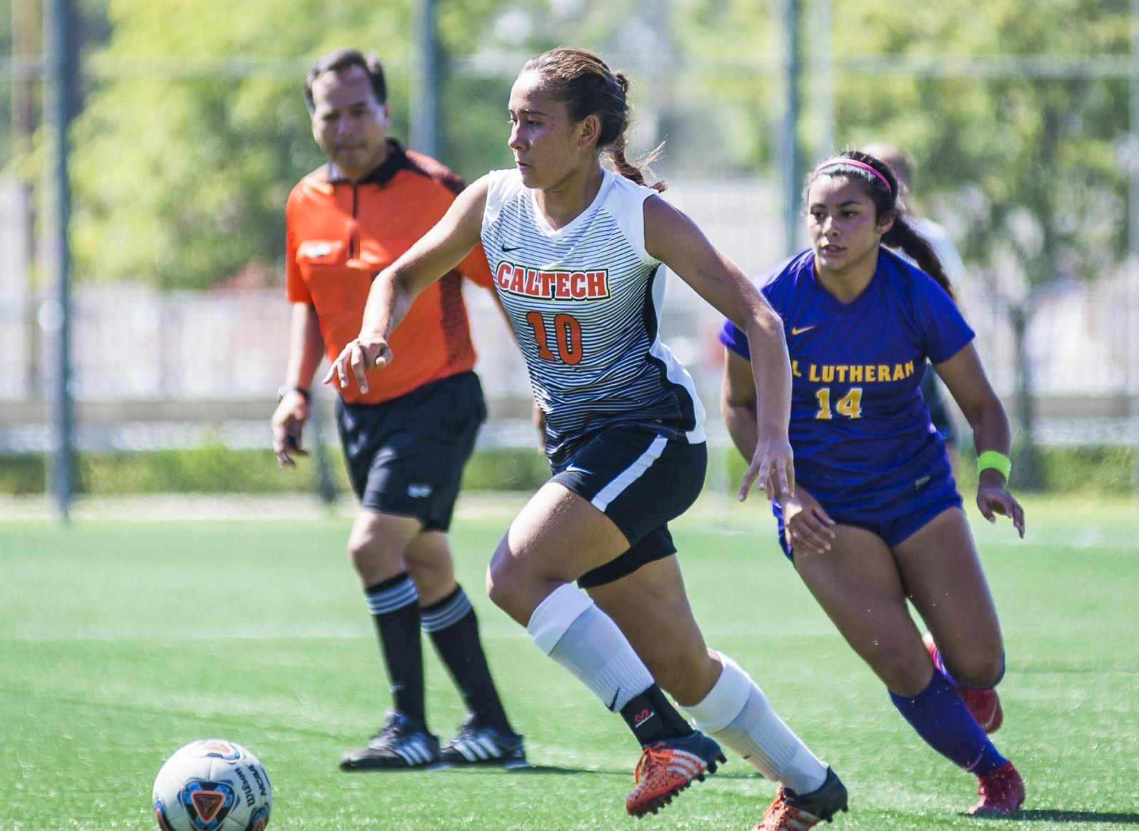 Women's Soccer Improves Against Pomona-Pitzer