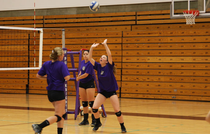 Women's volleyball opens NE-10 play with setback to Southern New Hampshire