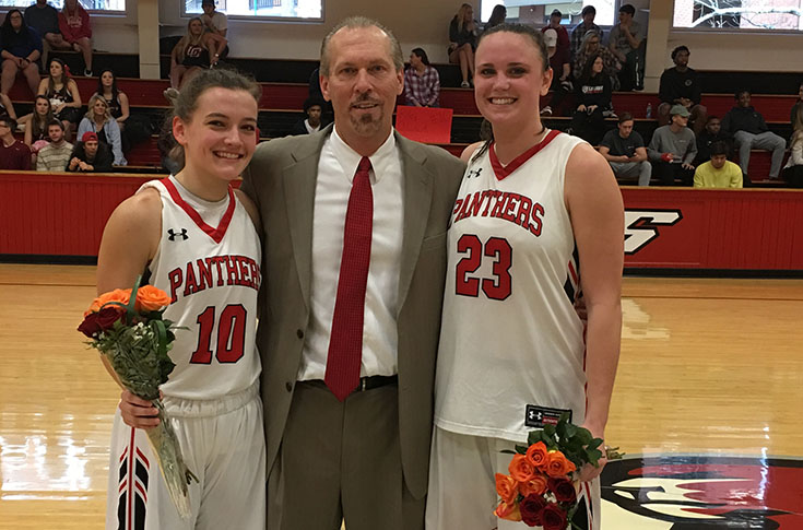 Women's Basketball: Panthers celebrate Senior Day with 71-59 win over Maryville