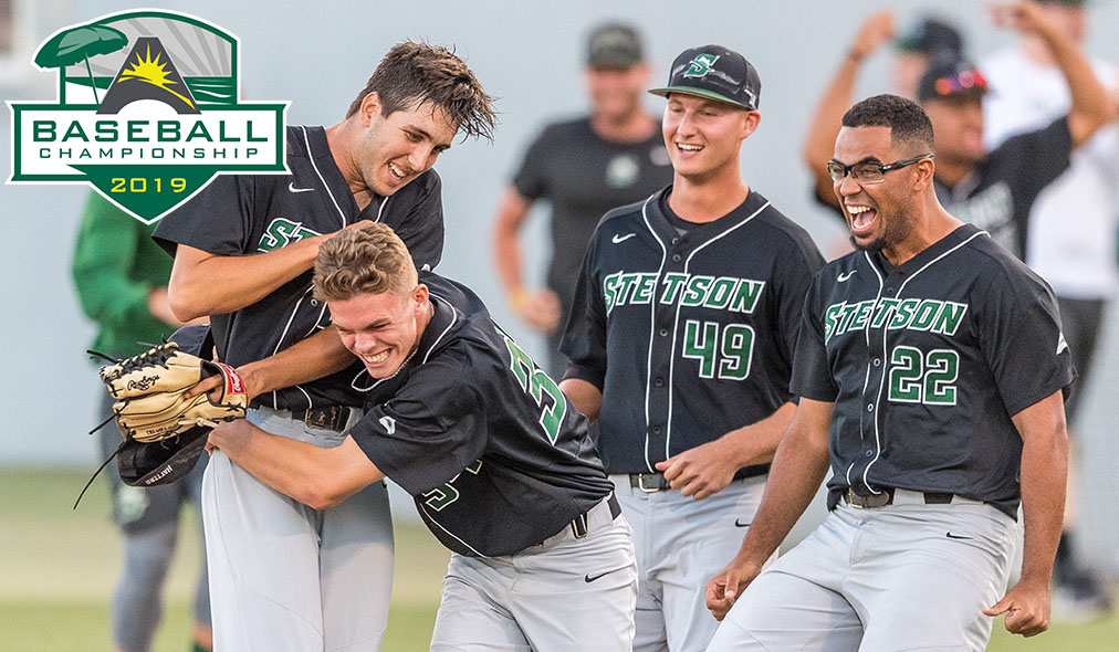 Youngsters Shine as Stetson Survives in 12-Inning Affair vs. Lipscomb in @ASUNBSB Championship