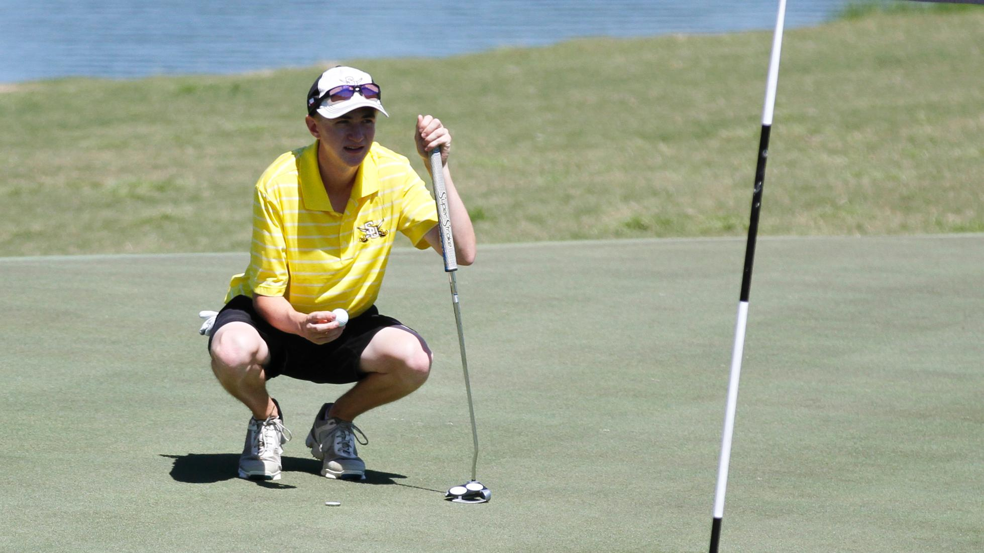 Men's golf in 15th at Jekyll Island