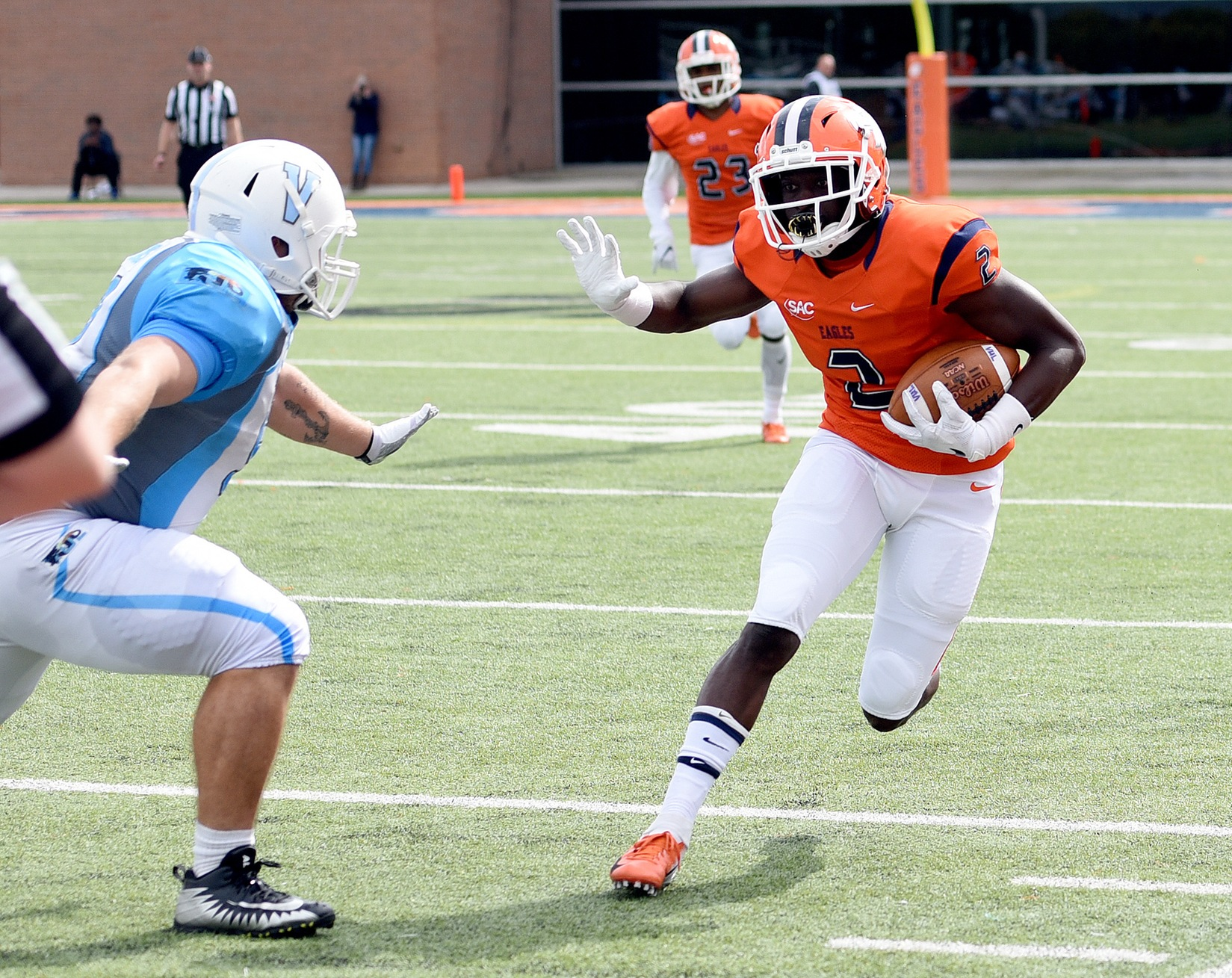 Carson-Newman flambés Dragons for fourth straight win 63-10