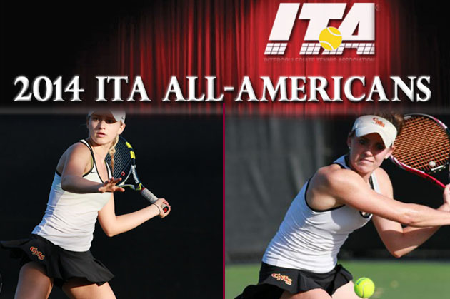 Pair of Athena tennis players selected as ITA All-Americans
