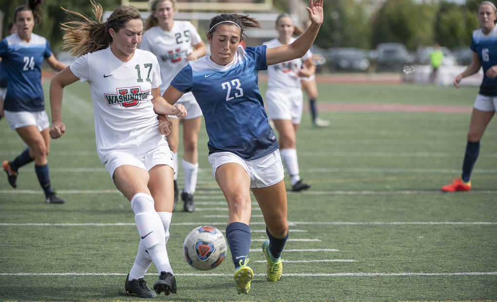#24 Women's Soccer Falls to #1 WashU, 2-1, in Overtime