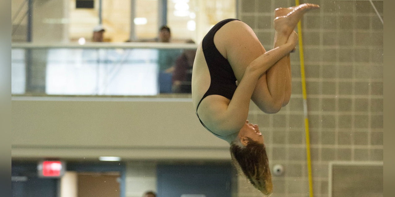 Christine Peterson, Trinity University, Diver of the Week (Week 14)
