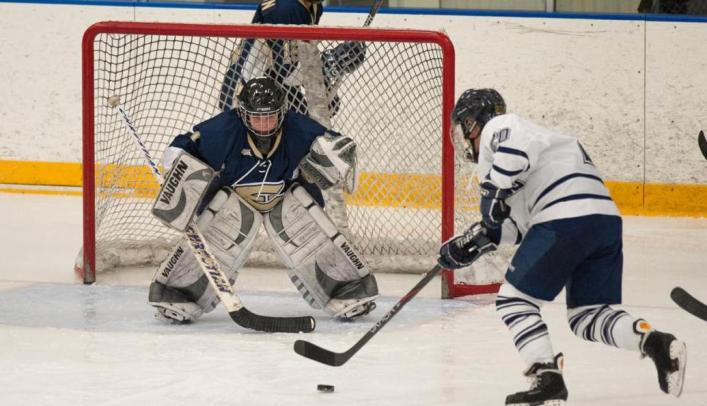 Women's Hockey Comeback Falls Just Short at Superior