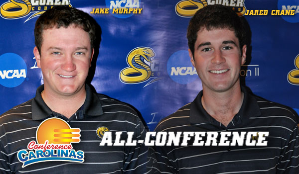 Murphy, Crane Land on All-Conference Teams