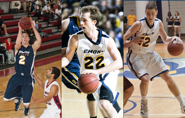 Emory Men's Basketball Trio Receive Athletic Department Awards