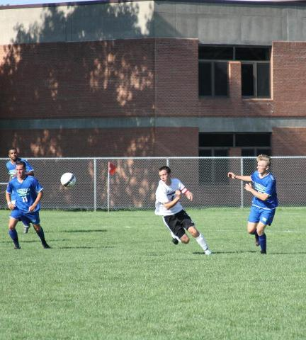 Men's Soccer Team Wins In Saranac Lake