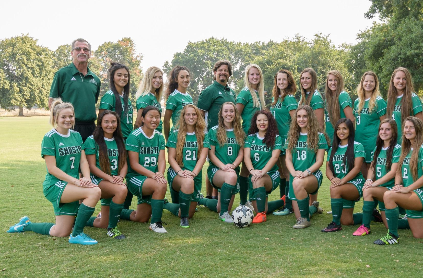 Shasta College Lady Knights Women's Soccer Team