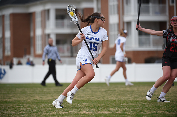 W&L Women's Lacrosse Downs Shenandoah in ODAC Semis, 18-4