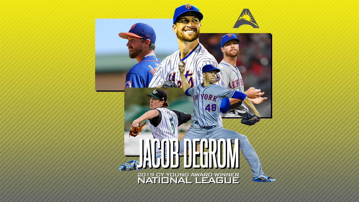 Former @ASUNBSB Star Jacob deGrom Collects Second Straight Cy Young Award
