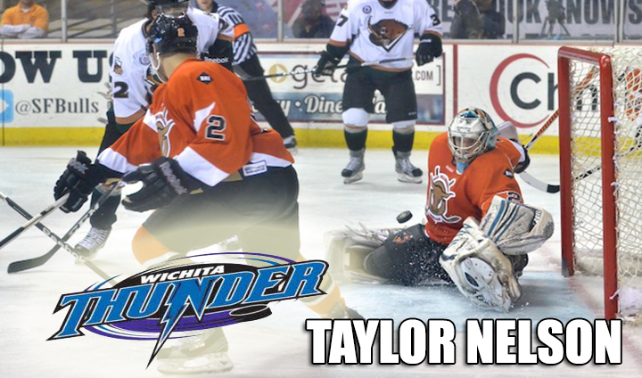Former All-America Goaltender Taylor Nelson Inks New Pro Deal