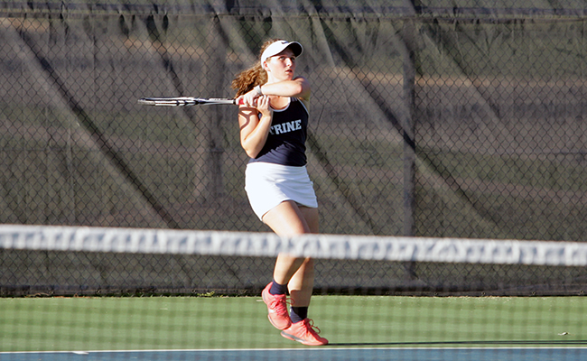 Women's Tennis Drops Tight Match to Anderson