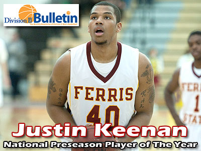 Keenan National Preseason Player of Year