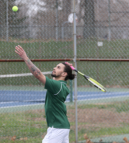 Broncos top Sage, 9-0 in men's tennis competition
