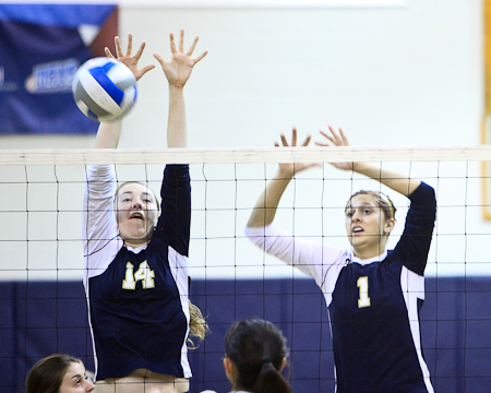 GU women's volleyball ranked No. 7 in Mid-Atlantic regional rankings