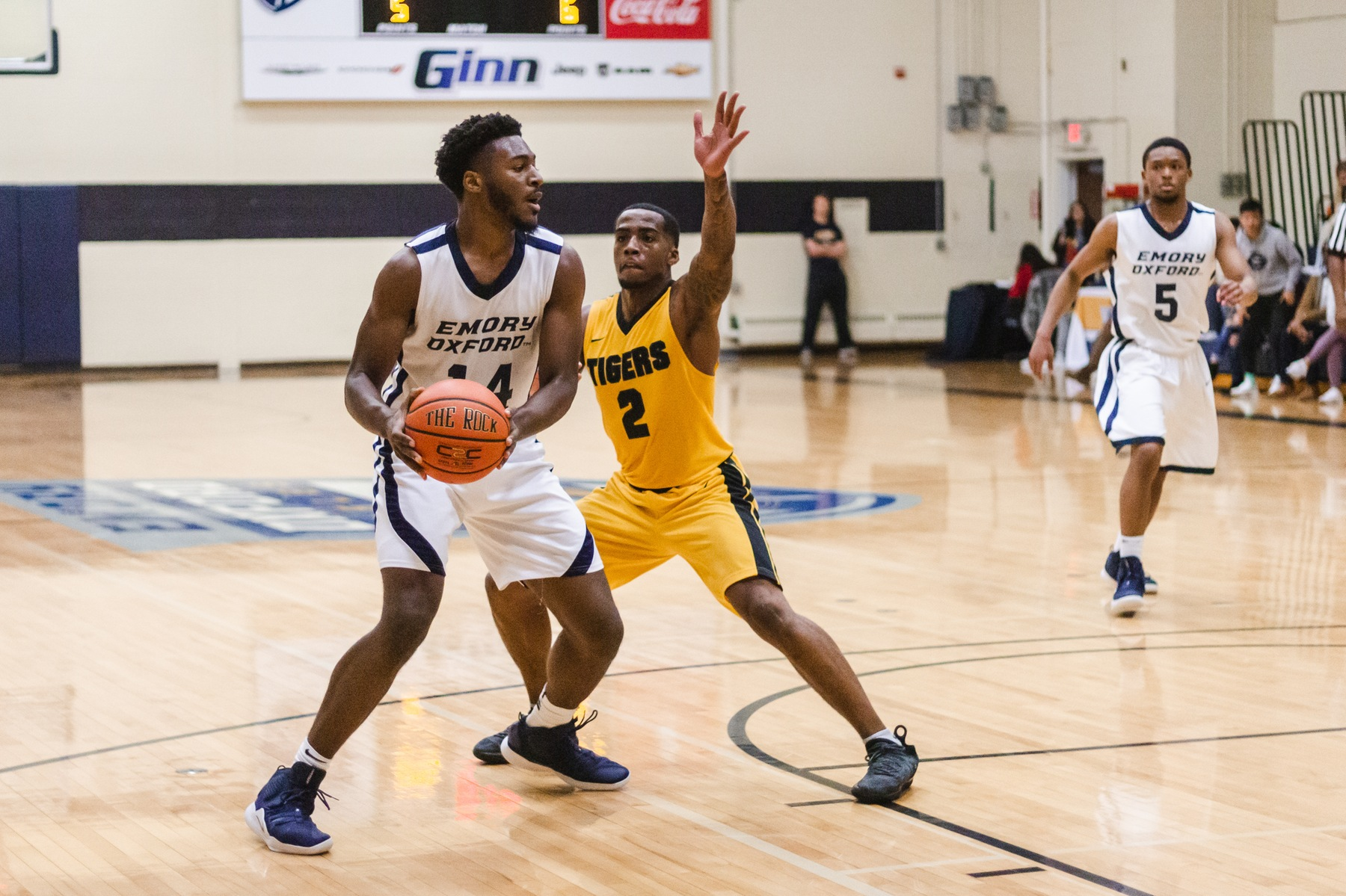 Emory Oxford Men's Basketball Defeats Trinity College
