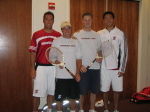 Men's Tennis Pro-Am Invite: Another Smashing Success