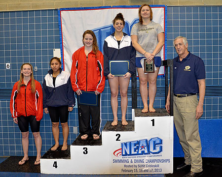 Polivanchuk wins first NEAC championship event as Bison sit in fourth place after first day