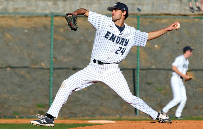Emory Baseball Concludes Four-Game Sweep of Brandeis