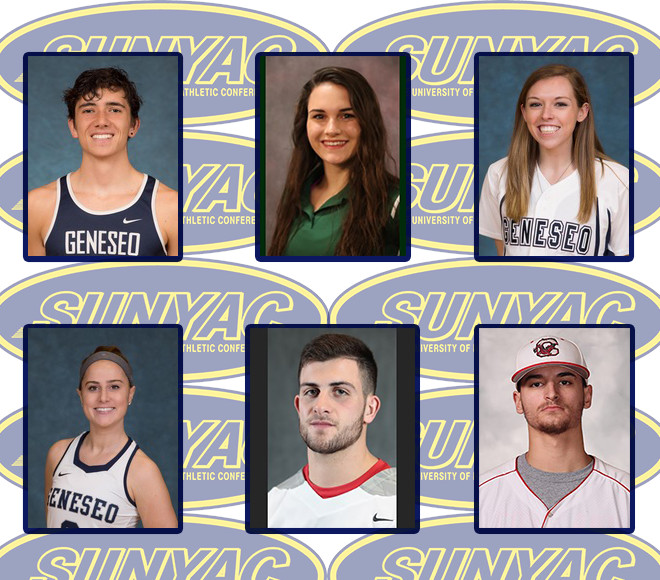 SUNYAC announces Spring Scholar Athlete of the Year honorees