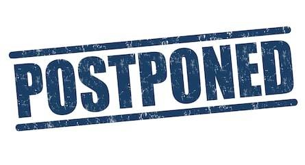 March 4th Doubleheader is Postponed to April 18th