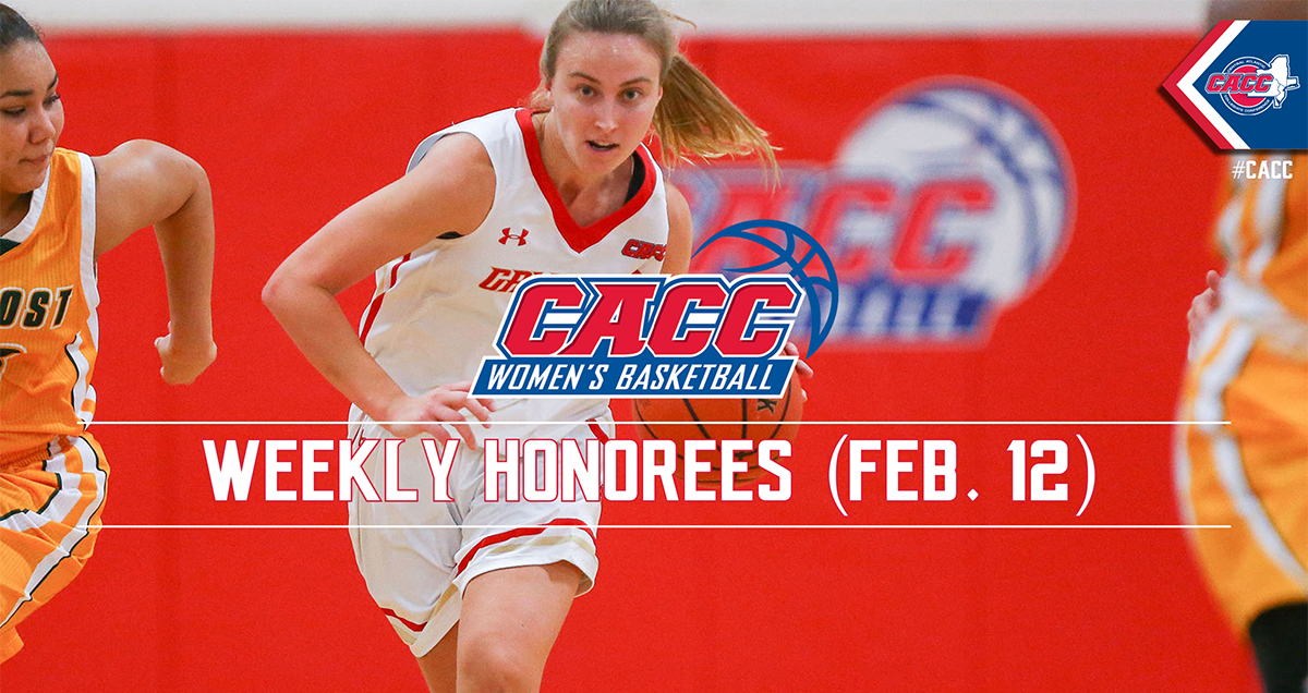 CACC Women's Basketball Weekly Honorees (Feb. 12)