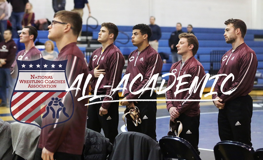 Maroon Wrestling Snags NWCA All-Academic Status