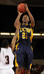 Nunnally Gets Hot in Second Half to Lead UCSB Past UC Riverside, 63-56