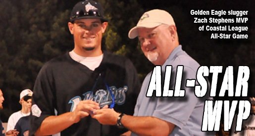Tech's Zach Stephens named MVP of Coastal League All-Star Game