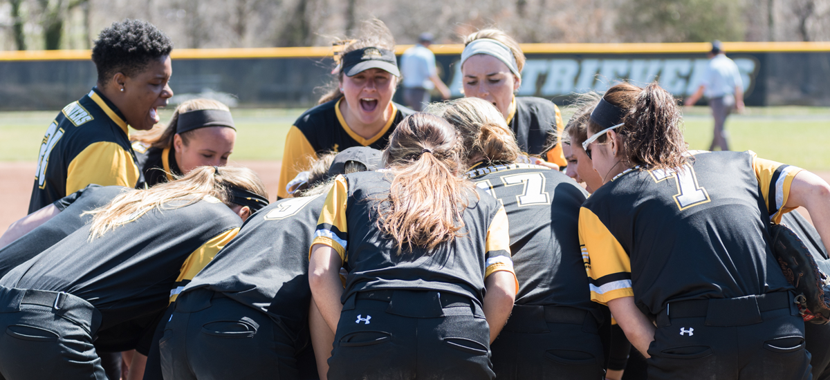 Baker Tosses Shutout; Alexander Notches 200th Hit as Softball Splits Double Header with Albany