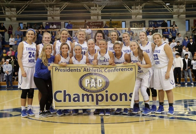 No. 4 Saints Win PAC Tournament Title With 93-51 Win Over The Presidents