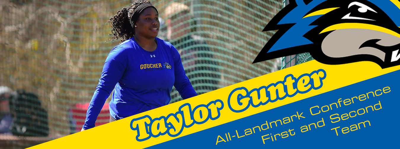 Taylor Gunter Earns All-Landmark Conference First And Second Team Honors For The Outdoor Season