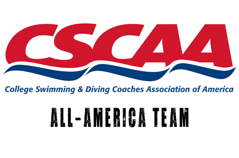 14 Collect CSCAA All-America Awards