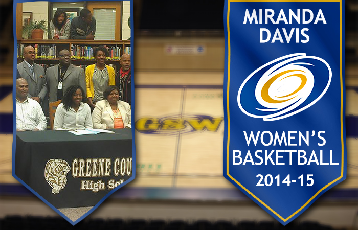 Davis Joins Women's Basketball Program