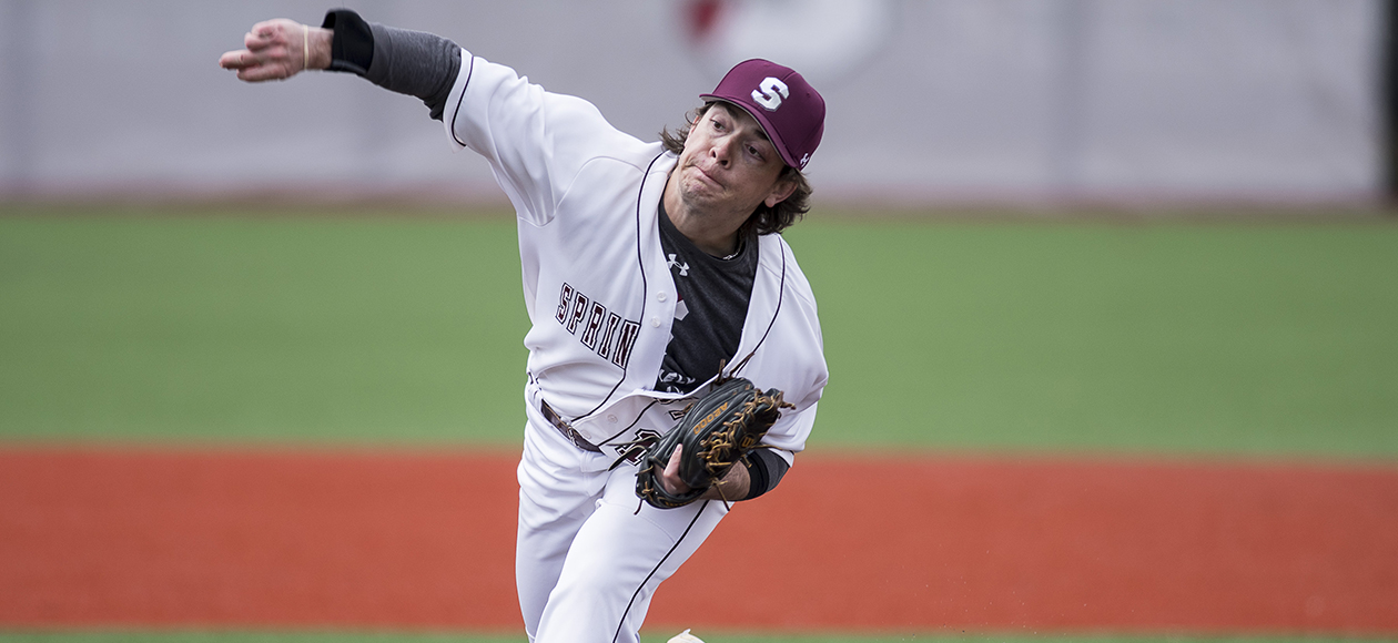 Pitching Dominance Helps Baseball Past Colby-Sawyer, 4-0