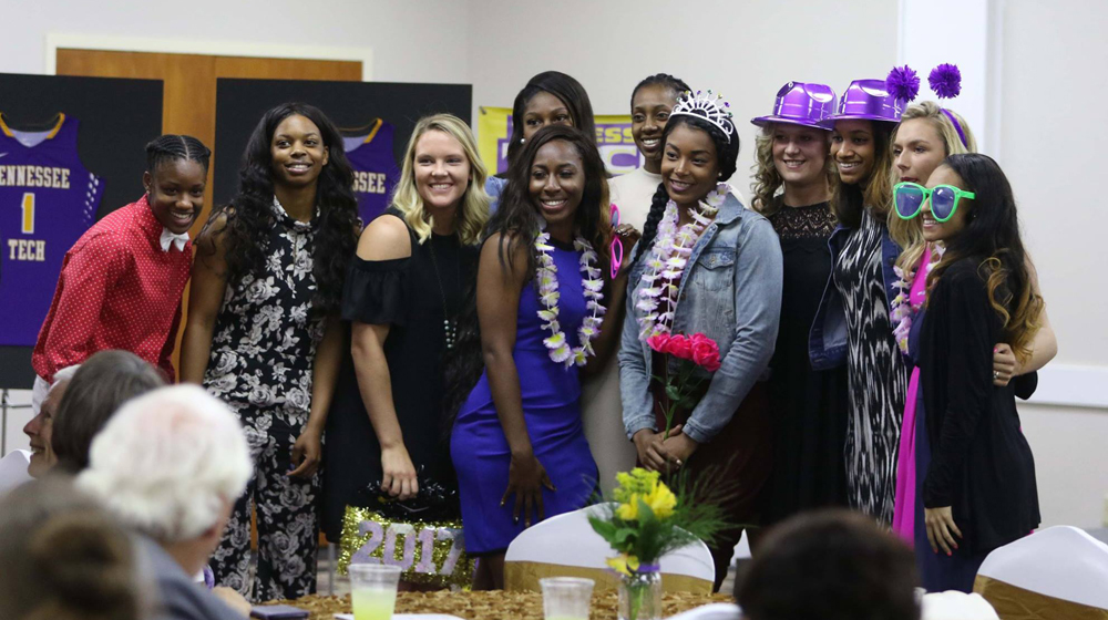 Tech women's basketball closes out 2016-17 season with end-of-year banquet