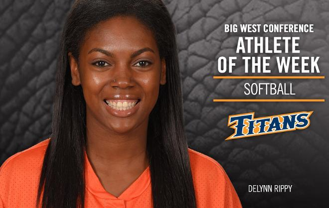 Rippy Snags Final Big West Conference Player of the Week Honor