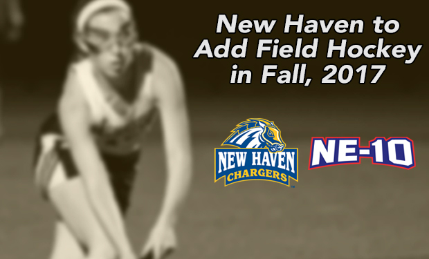 New Haven to Sponsor Field Hockey, Chargers to Begin Competing in 2017