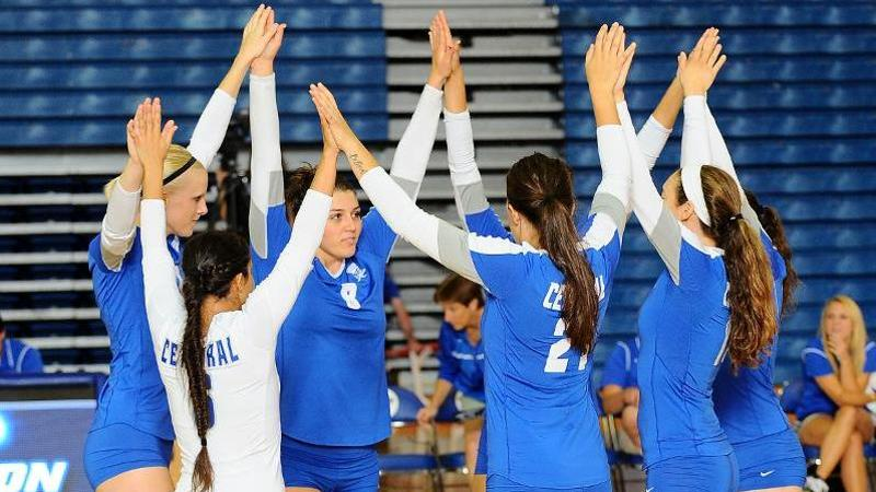 Volleyball Set For NEC Tournament Semifinal