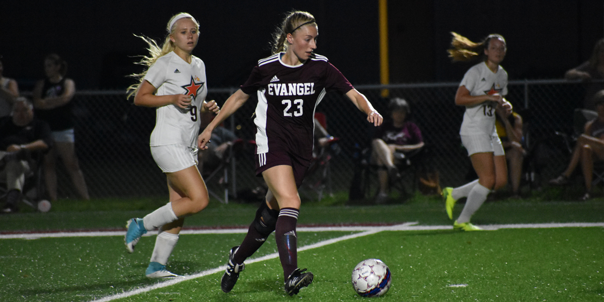 Evangel Women's Soccer Opens Conference Play with 2-0 Shutout Over Baker