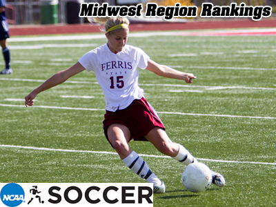 Kasey Ruimveld and the Bulldog women's soccer team are listed seventh in the Midwest Region Rankings.  (Photo by Ben Amato)