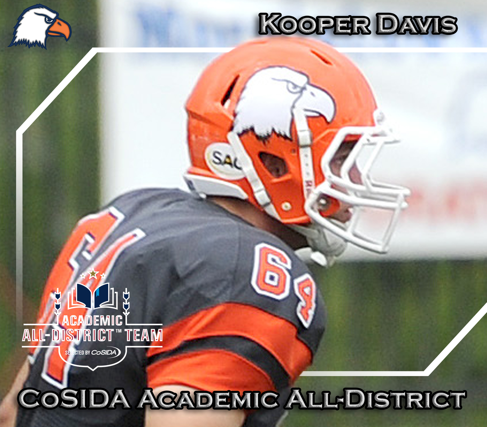 Four Eagles net CoSIDA Academic All-District honors